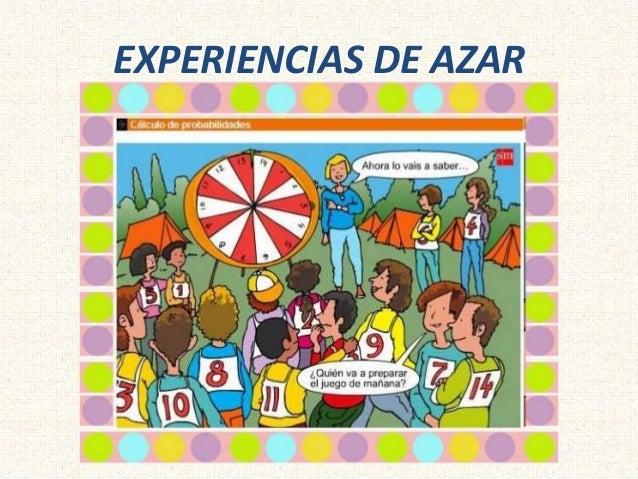 EXPERIENCIAS DE AZAR