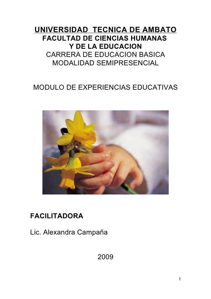 UNIVERSIDAD TECNICA DE AMBATO   FACULTAD DE CIENCIAS HUMANAS         Y DE LA EDUCACION    CARRERA DE EDUCACION BASICA     ...