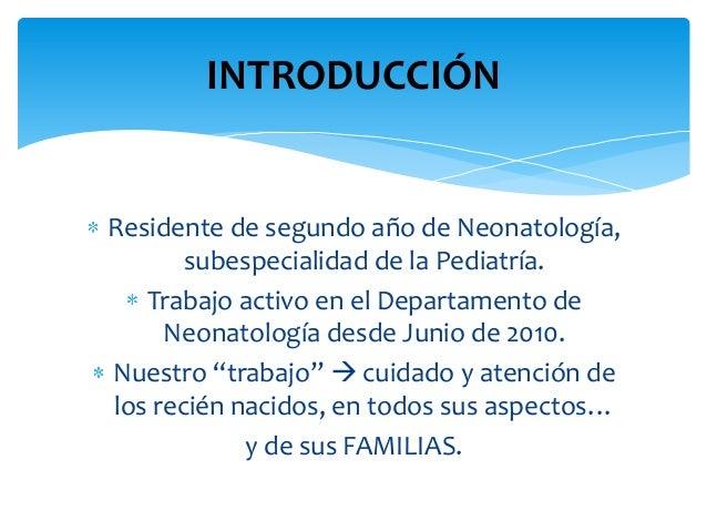 Experiencias en Neonatología Slide 2
