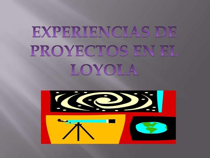 El proyecto de el grupo 9.1 fue sobrela demografía (demografía es elestudio de la población) en lainstitución Loyola; nues...