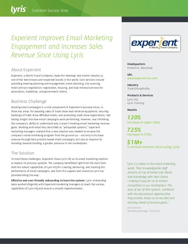 About Experient Experient, a Maritz Travel Company, leads the meetings and events industry as one of the best-known and re...