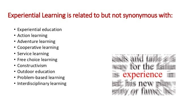 How to Learn from Experience–What Are the Implications of ...