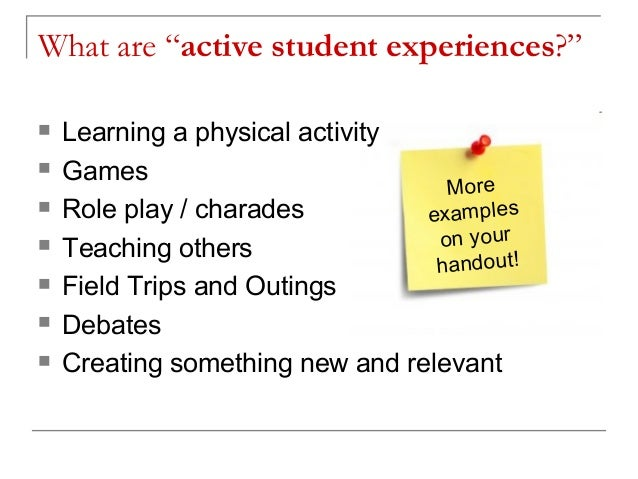 7 experiential learning activities to engage students.