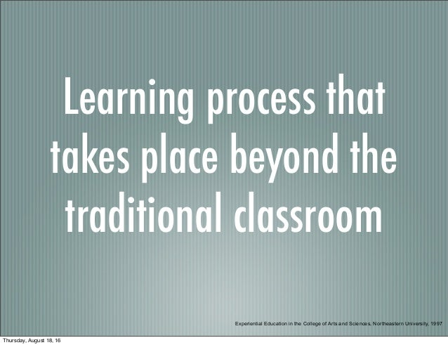 Experiential Learning Overview MTSU EMC Slide 2