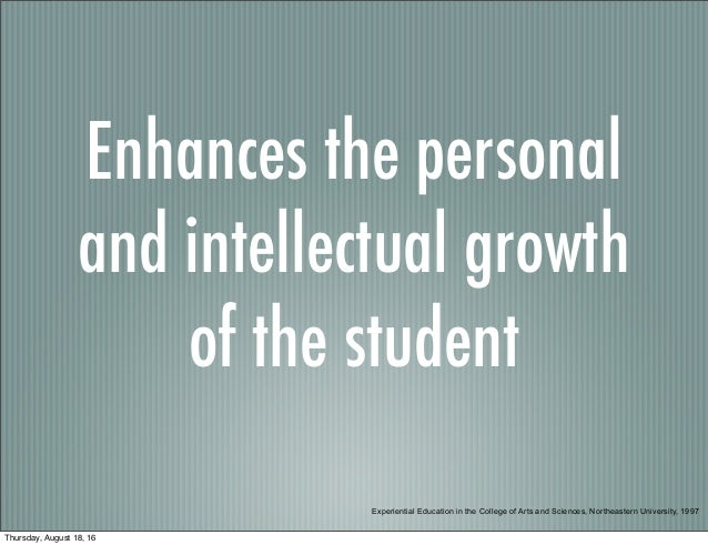 Experiential Learning Overview MTSU EMC Slide 3