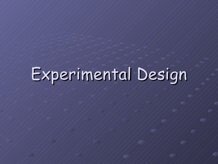 Quantitative Research Designs: Descriptive non ...