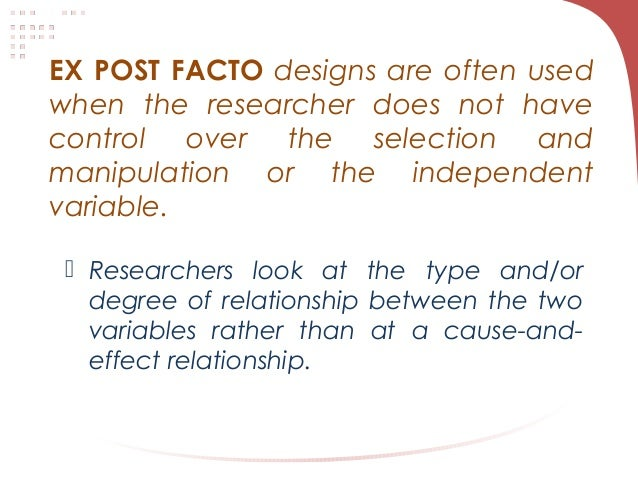 PUBLICATIONS - RESEARCH DESIGN AND STATS