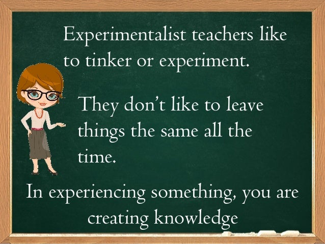 experimentalism in education