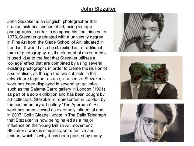 Examples List on Portraiture