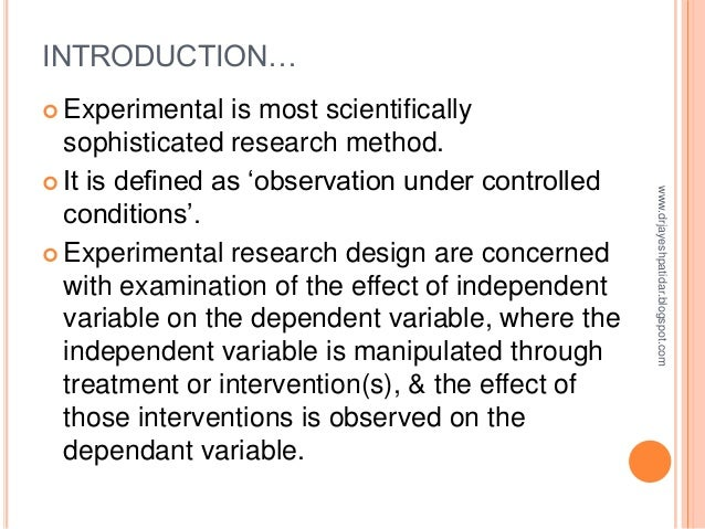 What Is the Manipulated Variable in an Experiment?
