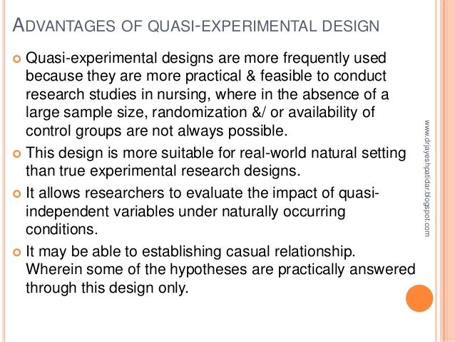 Thesis with experimental design