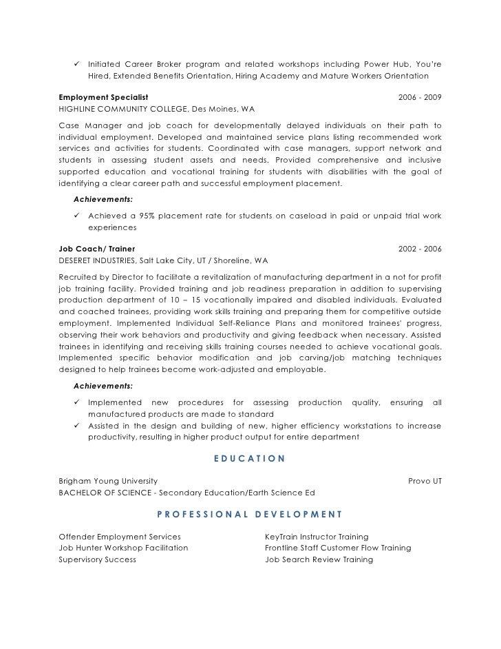 workforce development resume - Workforce Management Analyst Sample Resume