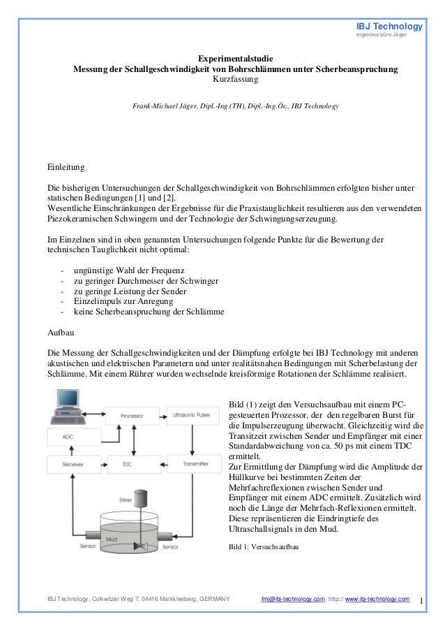 IBJ Technology  Ingenieurbüro Jäger  IBJ Technology, Colkwitzer Weg 7, 04416 Markkleeberg, GERMANY fmj@ibj-technology.com ...