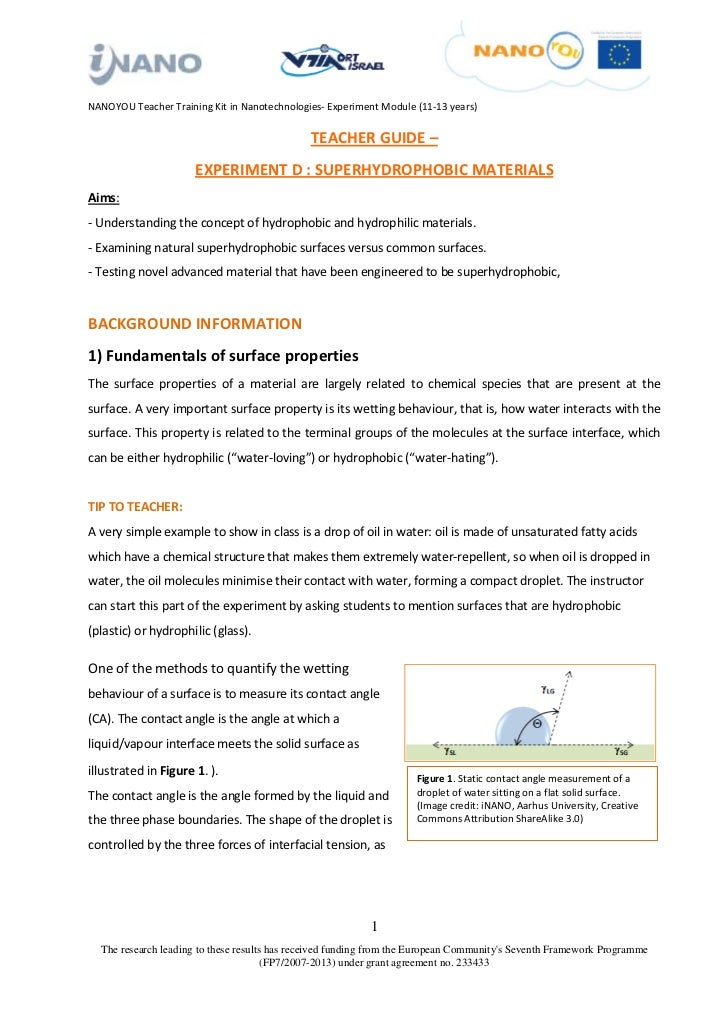 NANOYOU Teacher Training Kit in Nanotechnologies- Experiment Module (11-13 years)                                         ...