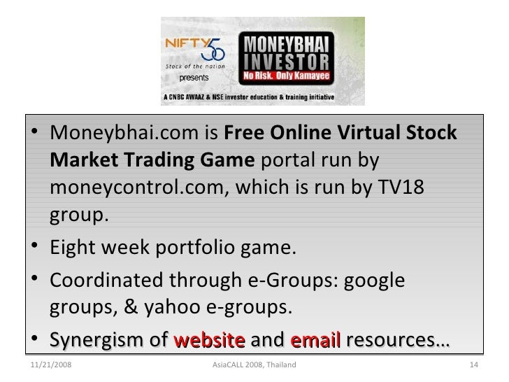Free virtual options trading game