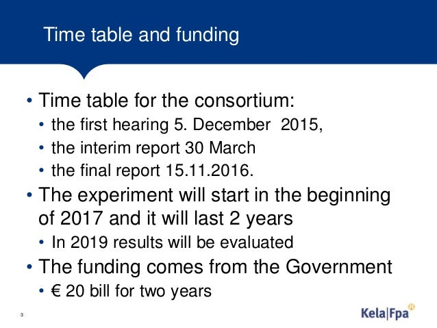 Experimenting with basic income in finland Slide 3