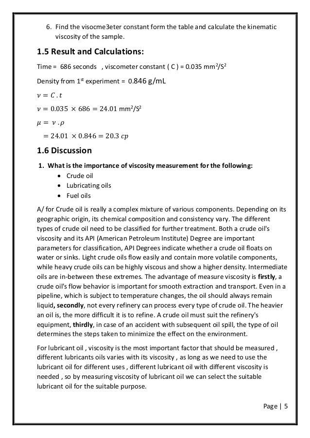Standard Test Method For Kinematic Viscosity Of