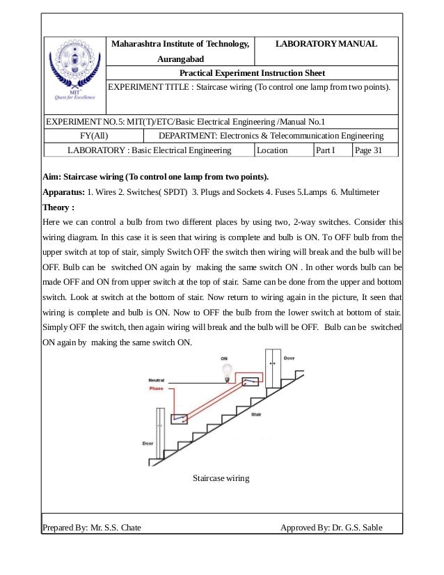 Superb House Wiring Experiment Basic Electronics Wiring Diagram Wiring 101 Cranwise Assnl