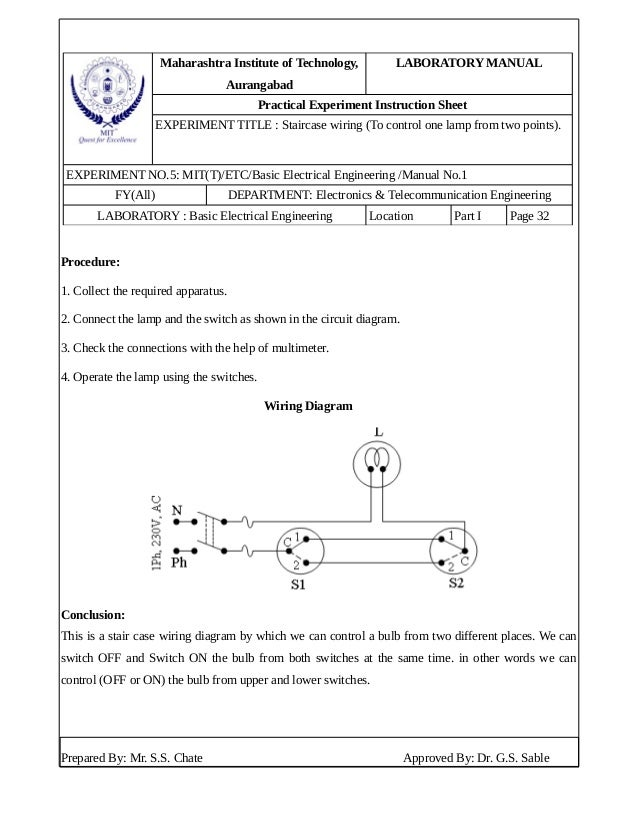 staircase wiring diagram pdf custom wiring diagram u2022 rh littlewaves co staircase wiring project pdf staircase wiring experiment pdf