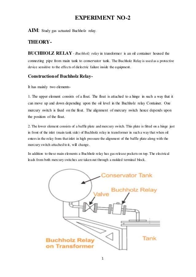 Amazing Buchholz Relay Wiring Digital Resources Honesemecshebarightsorg