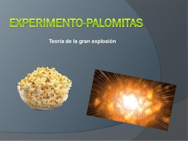 Teoría de la gran explosión