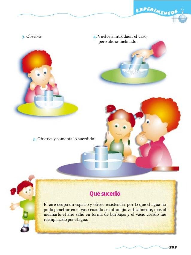 Experimentos cientificos para niños.
