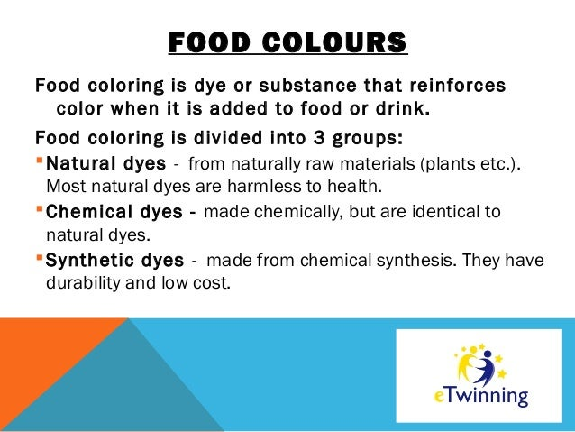 Experiment with food coloring