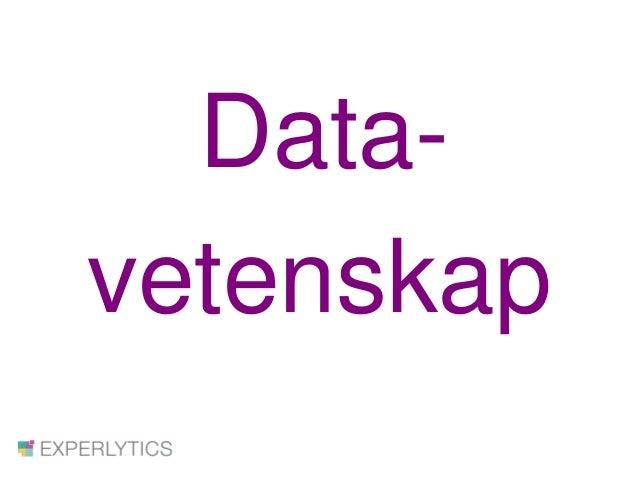 Data- vetenskap