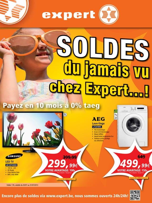 AUDIO VIDEO ELECTRO TELECOM AUDIO VIDEO ELECTRO TELECOM SOLDES du jamais vu chez Expert…! Folder 176, valable du 03/07 au ...
