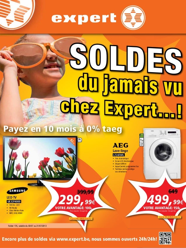 AUDIO VIDEO ELECTRO TELECOM AUDIO VIDEO ELECTRO TELECOM SOLDES du jamais vu chez Expert…! Folder 176, valable du 03/07 au ...