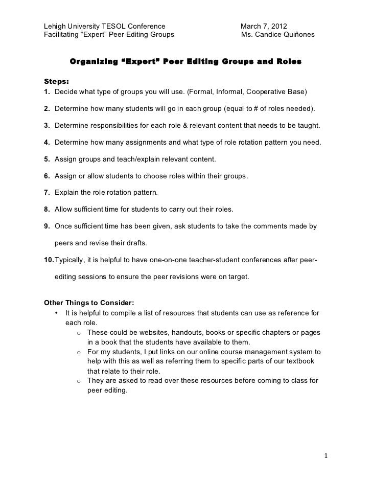 conference handout template