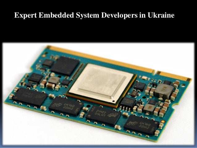 Expert Embedded System Developers in Ukraine