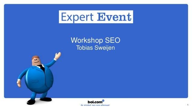 Workshop SEO Tobias Sweijen 1