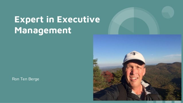 Expert in Executive Management Ron Ten Berge