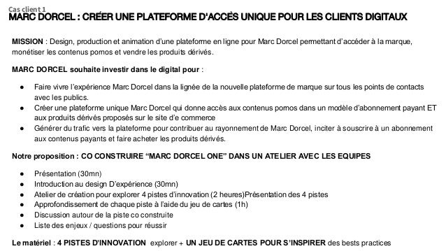 MISSION : Design, production et animation d'une plateforme en ligne pour Marc Dorcel permettant d'accéder à la marque, mon...