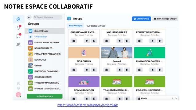 NOTRE ESPACE COLLABORATIF https://lesupercollectif.workplace.com/groups/