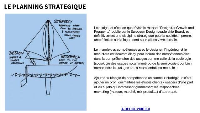 """LE PLANNING STRATEGIQUE A DECOUVRIR ICI Le design, et c'est ce que révèle le rapport """"Design for Growth and Prosperity"""" pu..."""
