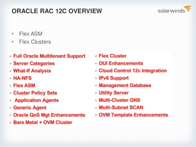 Expert performance tuning tips for Oracle RAC