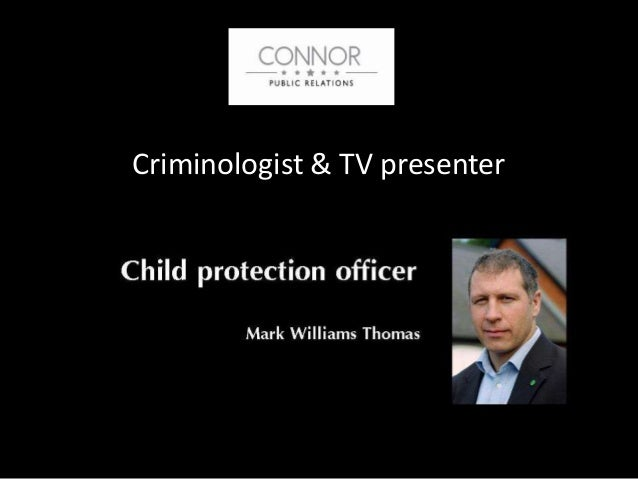 Criminologist & TV presenter