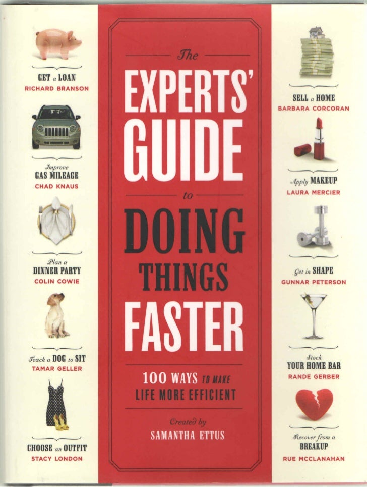 The Experts Guide to Doing Things Faster -- Quit Smoking