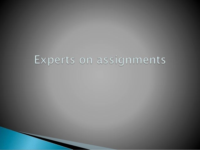  Work assigned in school, college or university that is given to be completed in specified time period.  It can be in an...