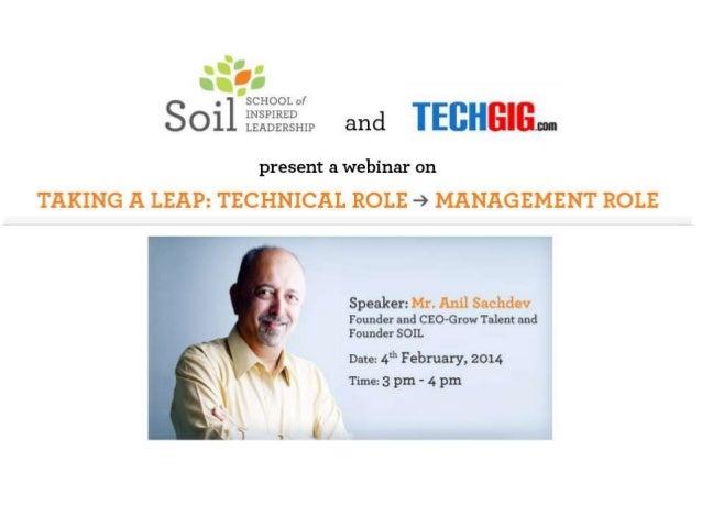 Why do I need to change my career track? Anil Sachdev