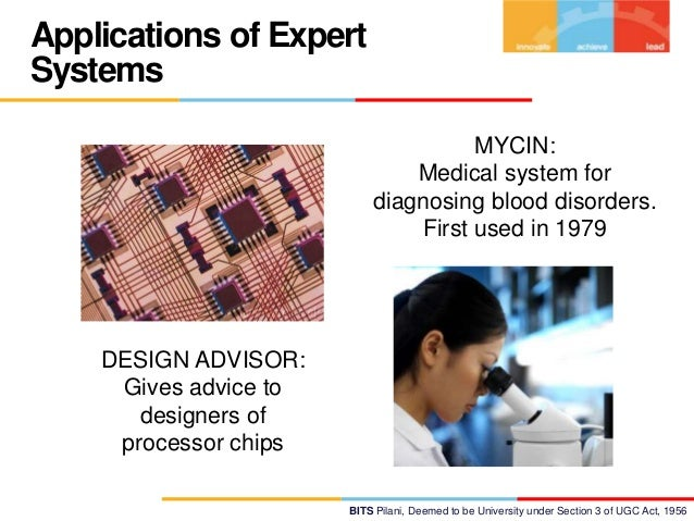 """the expert system A case referring to the beneficial use of the expert systems in the health sector was the attempt of the lds hospital in salt lake city,utah to build """" the most complex artificial intelligence system ever created"""" according to the words of dr david classenits name was aic or """"antibiotic computer consultant"""" and it was part of help(health evaluation through logical processing), which."""