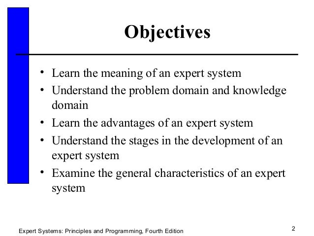 Expert system 21 sldes expert systems principles and programming fourth edition 2 fandeluxe Choice Image