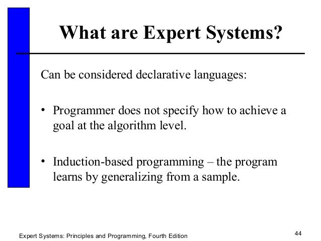 Expert System 21 Sldes