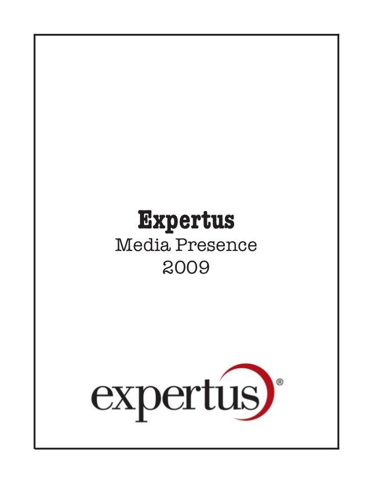 ExpertusMedia Presence    2009
