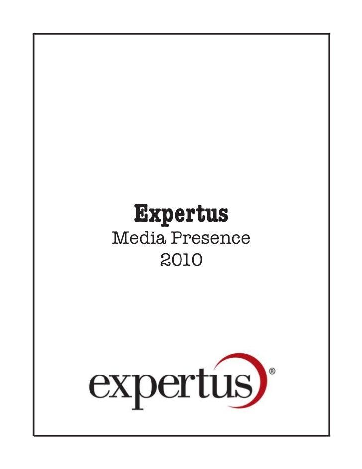 ExpertusMedia Presence    2010
