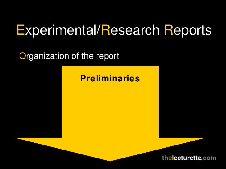 research report that uses experimentation A quasi-experimental design is one that looks a bit like an experimental design but lacks the key  designing designs for research advances in quasi-experimentation.