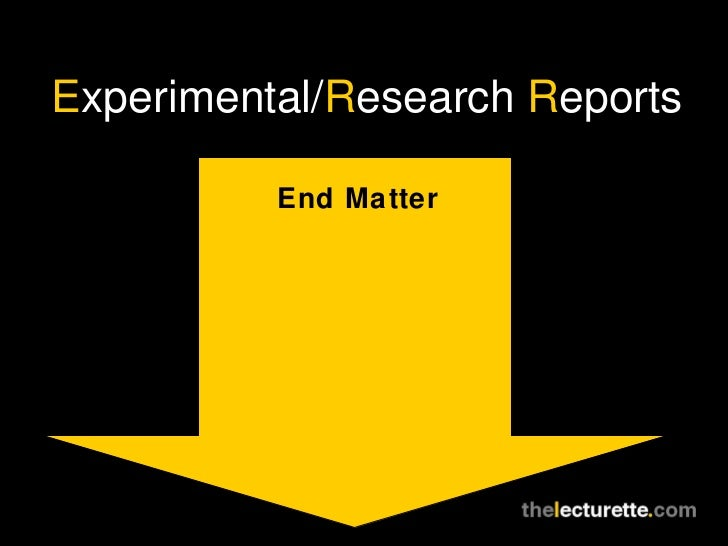 research report that uses experimentation Each year, the us department of agriculture releases statistics on the number of animals used for research, testing, teaching, and experimentation under usda licenses the statistics, gathered annually and available for the past several decades, reveal trends and tendencies in animal research.