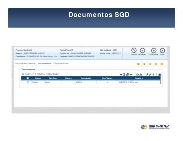 Documentos SGD